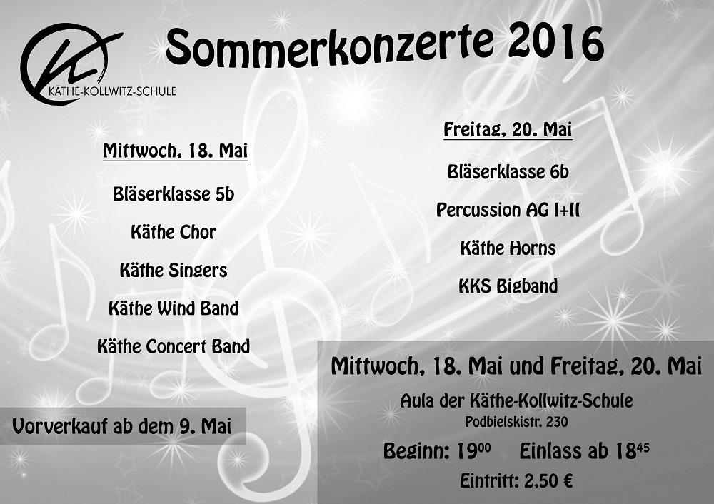 Sommerkonzerte 2016