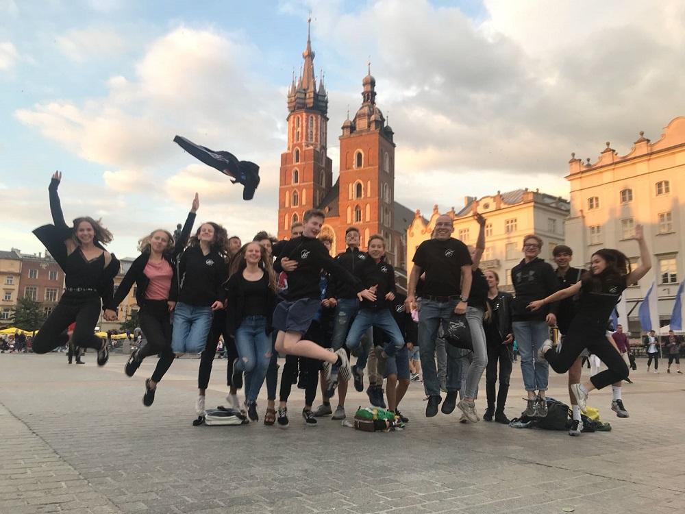 KKS Big Band Polen 2018 Abschied Rynek 2