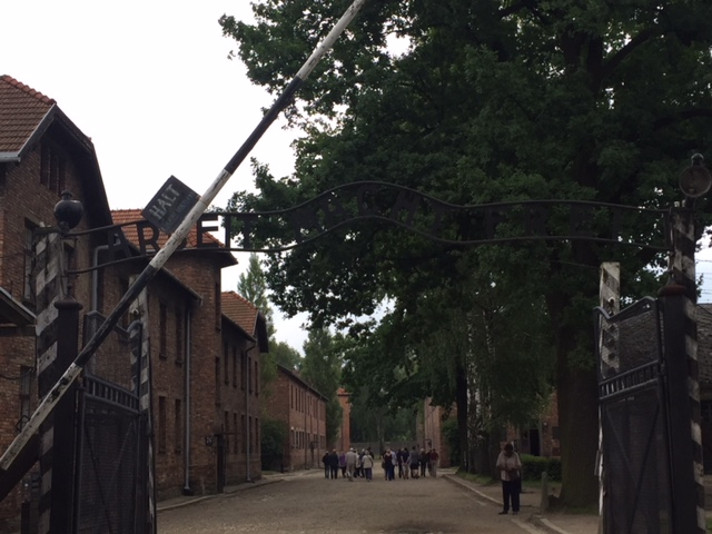 KKS Big Band Polen 2018 Auschwitz Tor